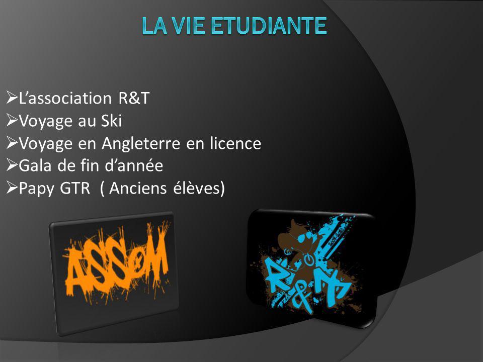 La Vie Etudiante L'association R&T Voyage au Ski