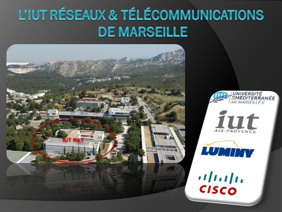 L'IUT Réseaux & Télécommunications de Marseille