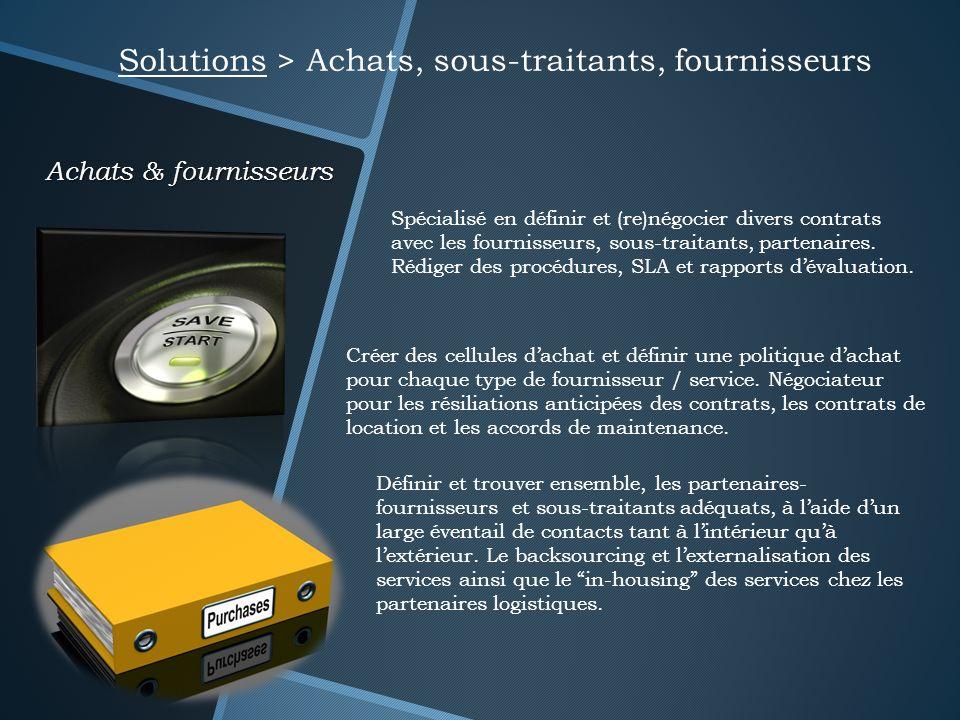 Solutions > Achats, sous-traitants, fournisseurs