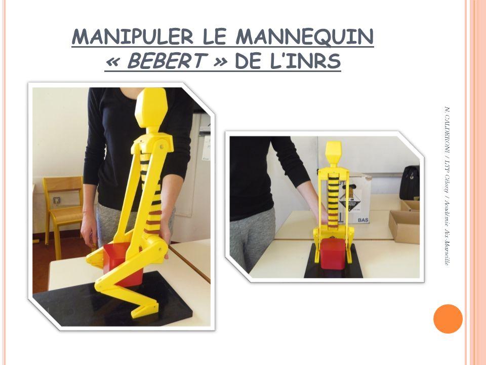MANIPULER LE MANNEQUIN « BEBERT » DE L'INRS