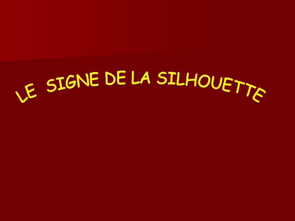 LE SIGNE DE LA SILHOUETTE