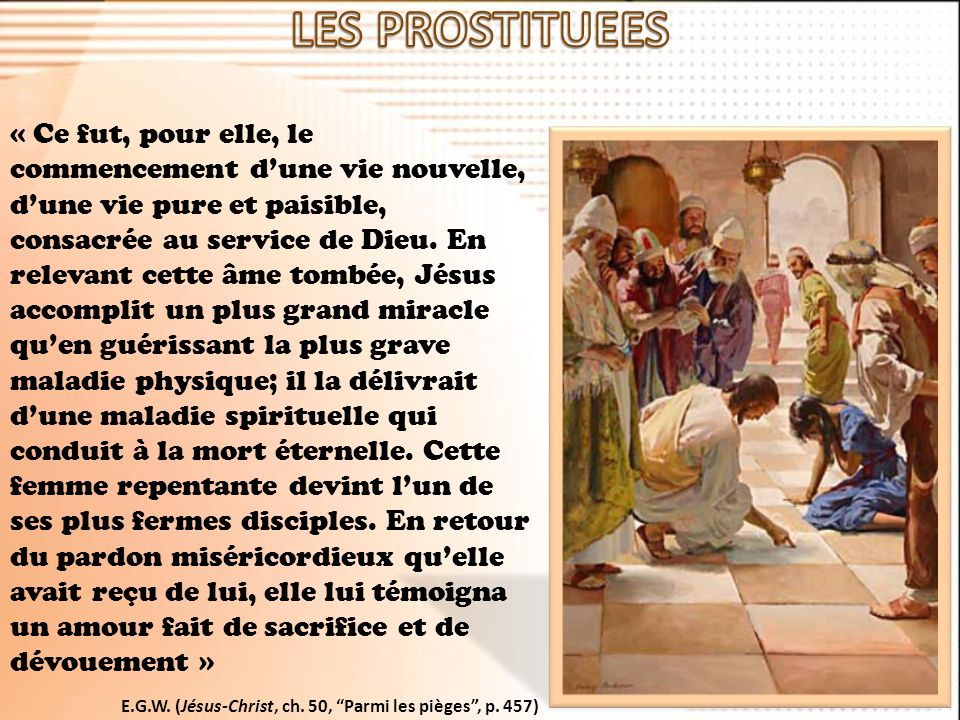 LES PROSTITUEES