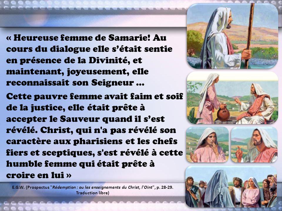 « Heureuse femme de Samarie