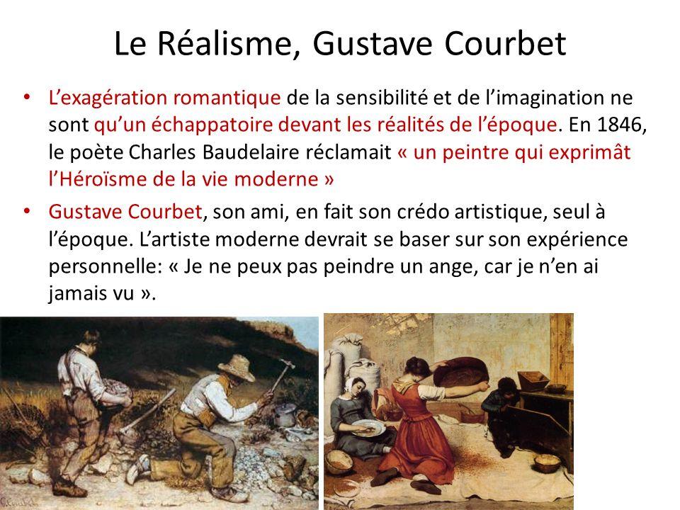 Le Réalisme, Gustave Courbet