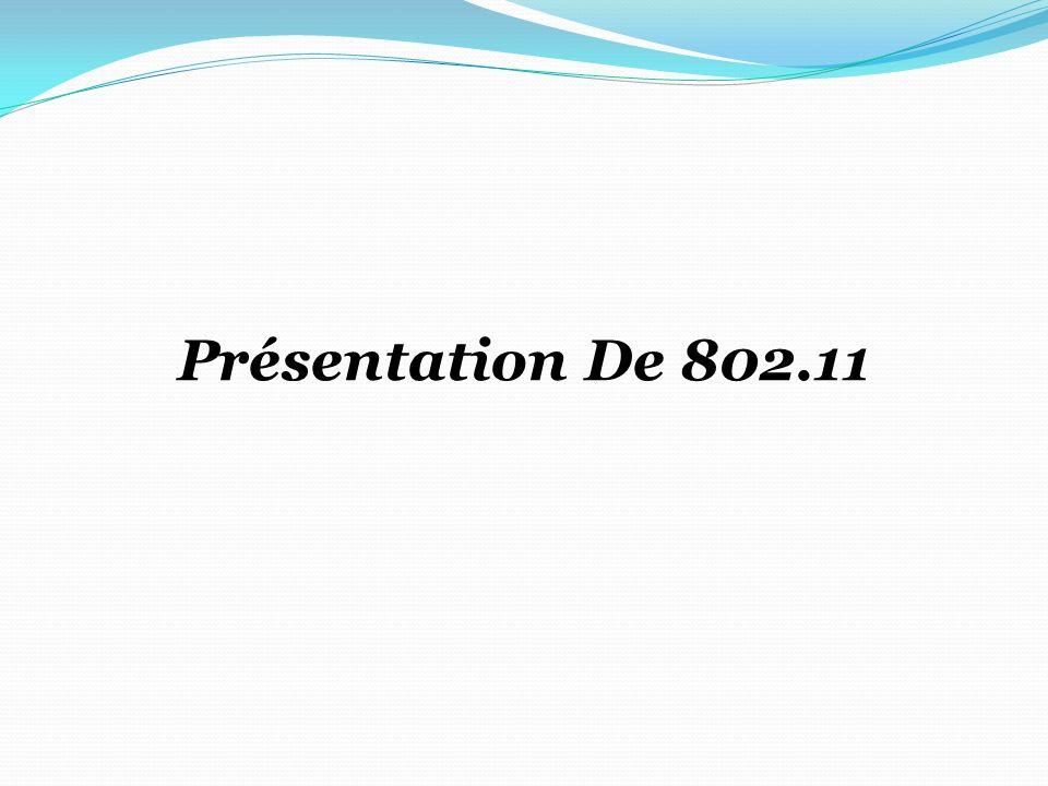 Présentation De 802.11