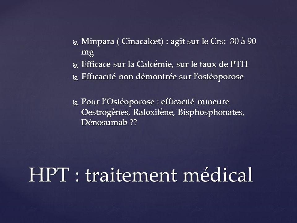 HPT : traitement médical