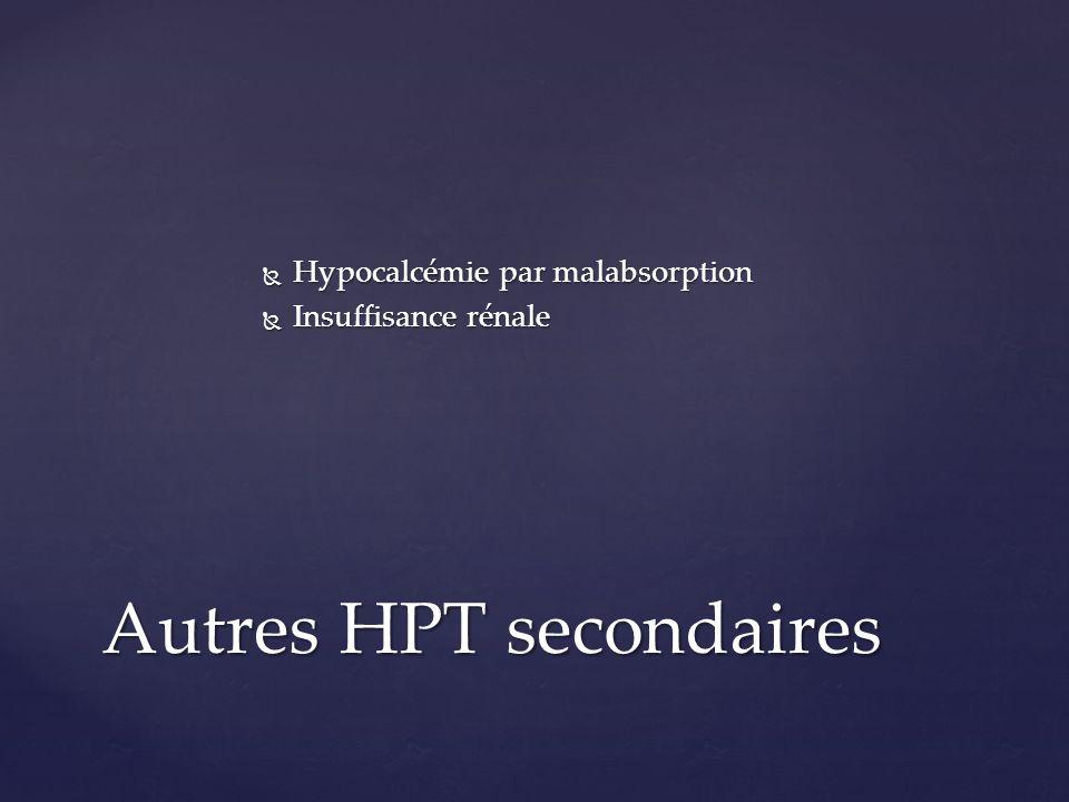 Autres HPT secondaires