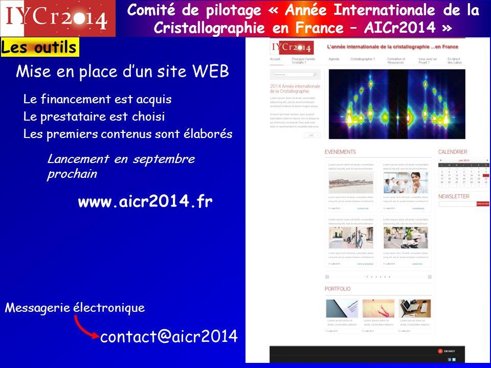 Mise en place d'un site WEB
