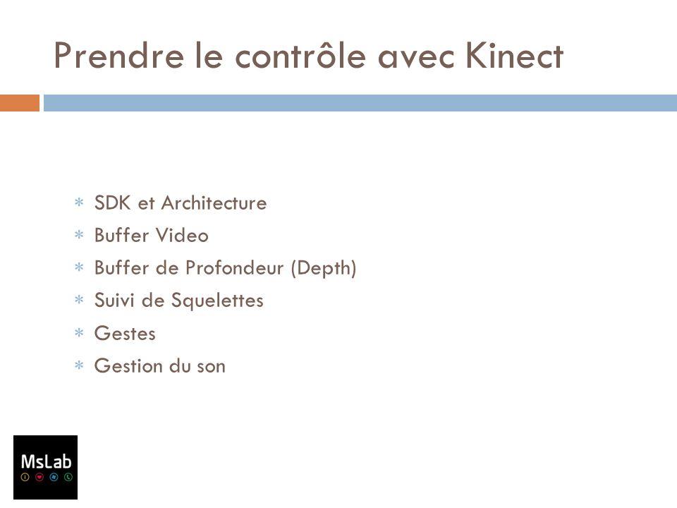 Prendre le contrôle avec Kinect