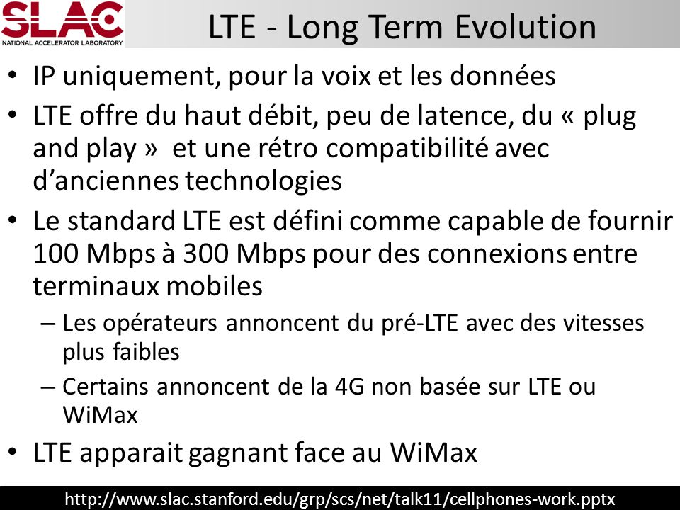 LTE - Long Term Evolution