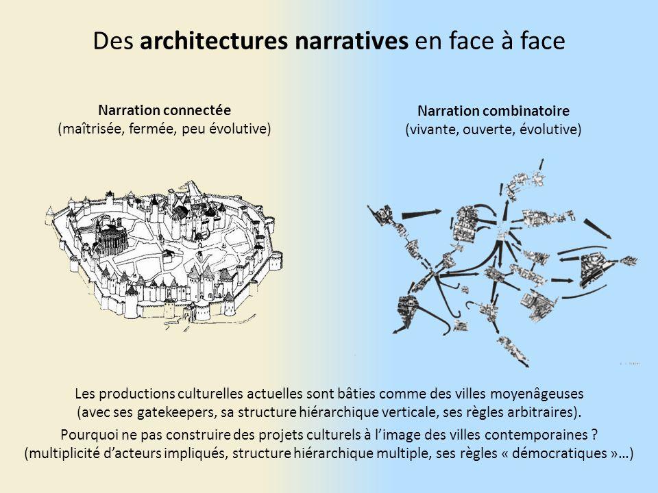 Des architectures narratives en face à face