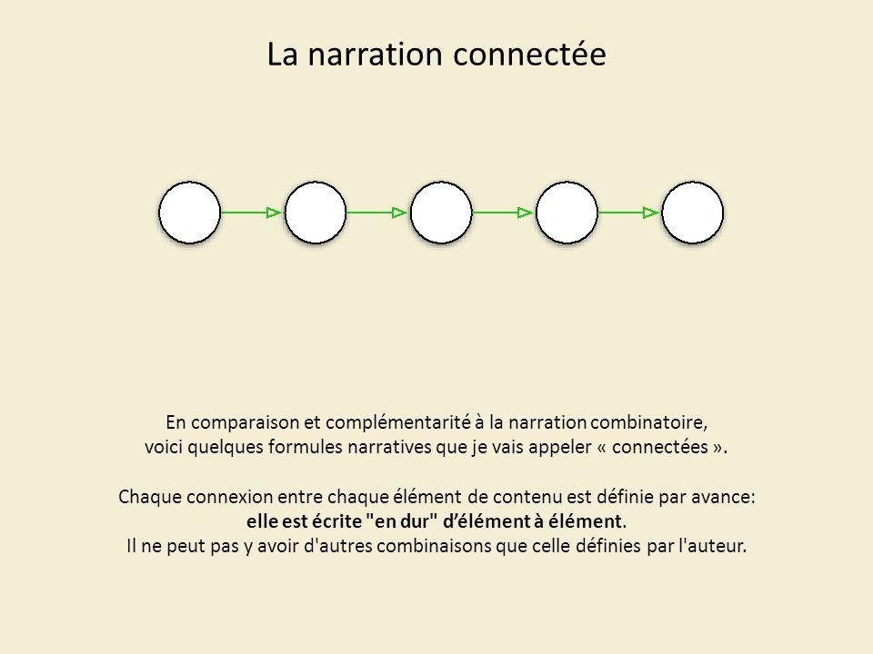 La narration connectée