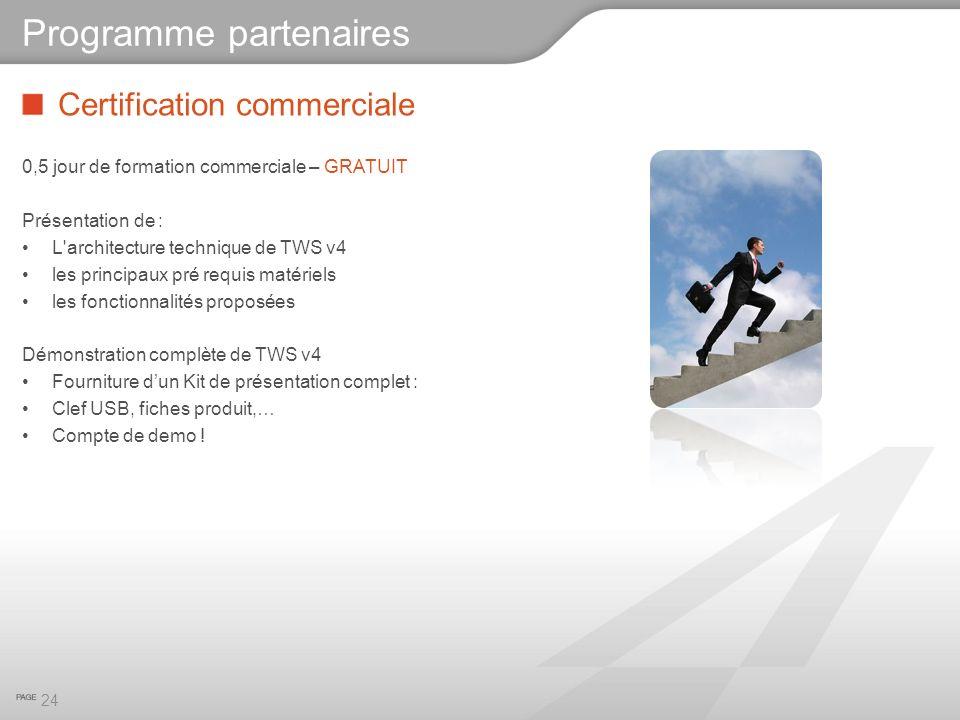 Programme partenaires