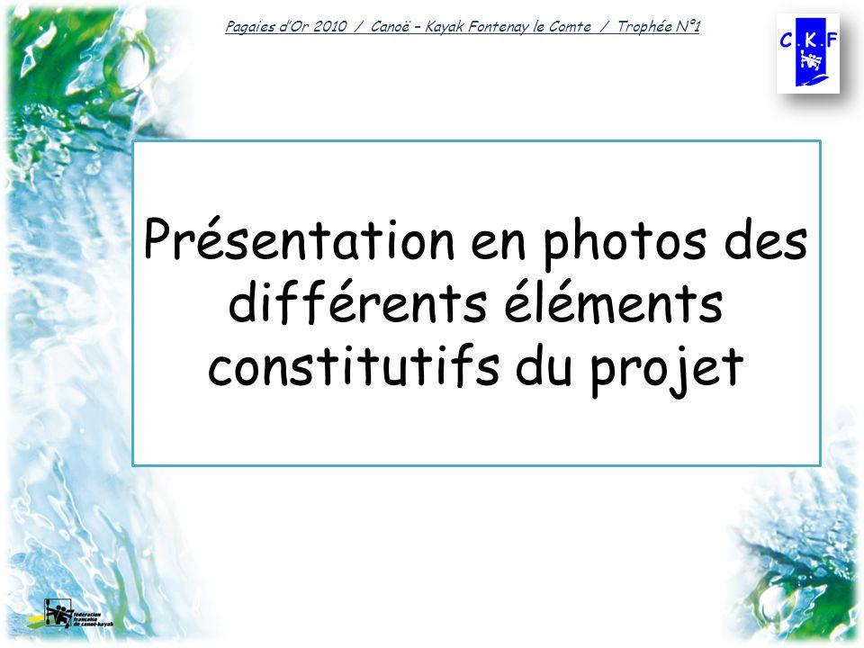 Présentation en photos des différents éléments constitutifs du projet