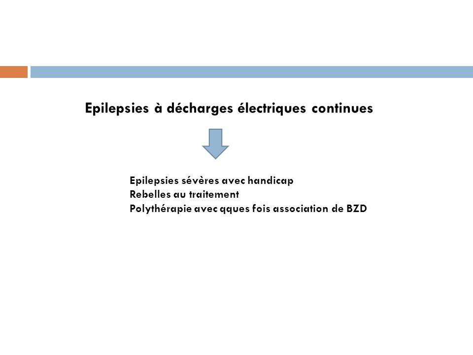 Epilepsies à décharges électriques continues