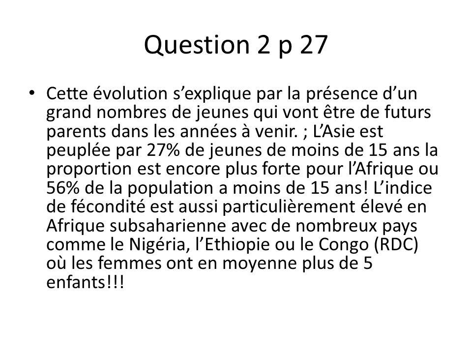 Question 2 p 27
