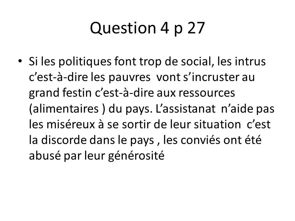 Question 4 p 27