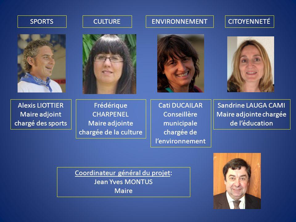 Maire adjoint chargé des sports Frédérique CHARPENEL