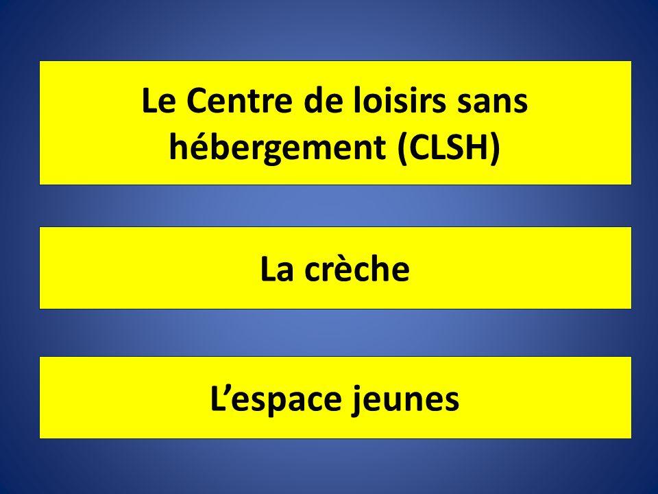 Le Centre de loisirs sans hébergement (CLSH)