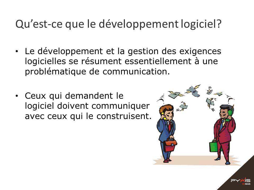Qu'est-ce que le développement logiciel