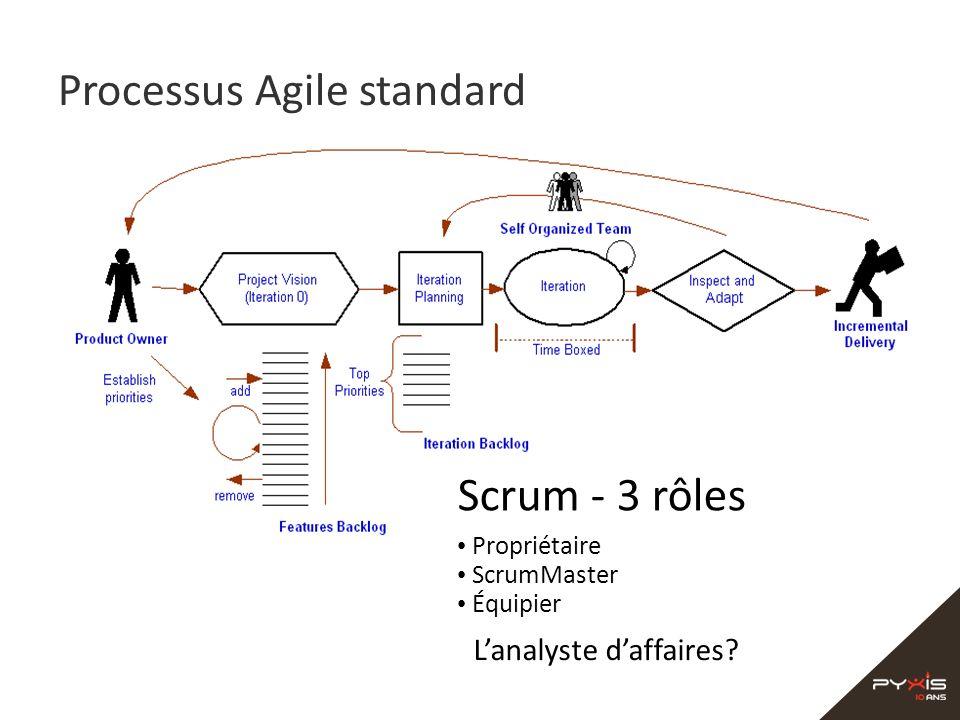 Processus Agile standard