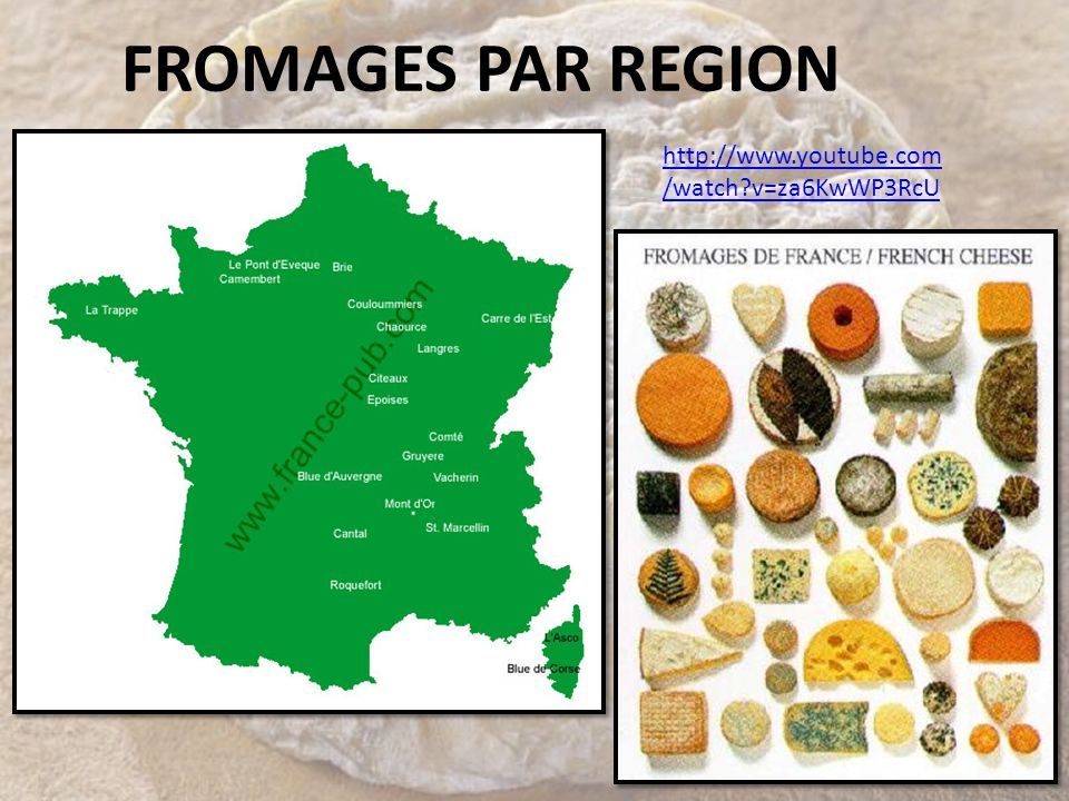 FROMAGES PAR REGION http://www.youtube.com/watch v=za6KwWP3RcU