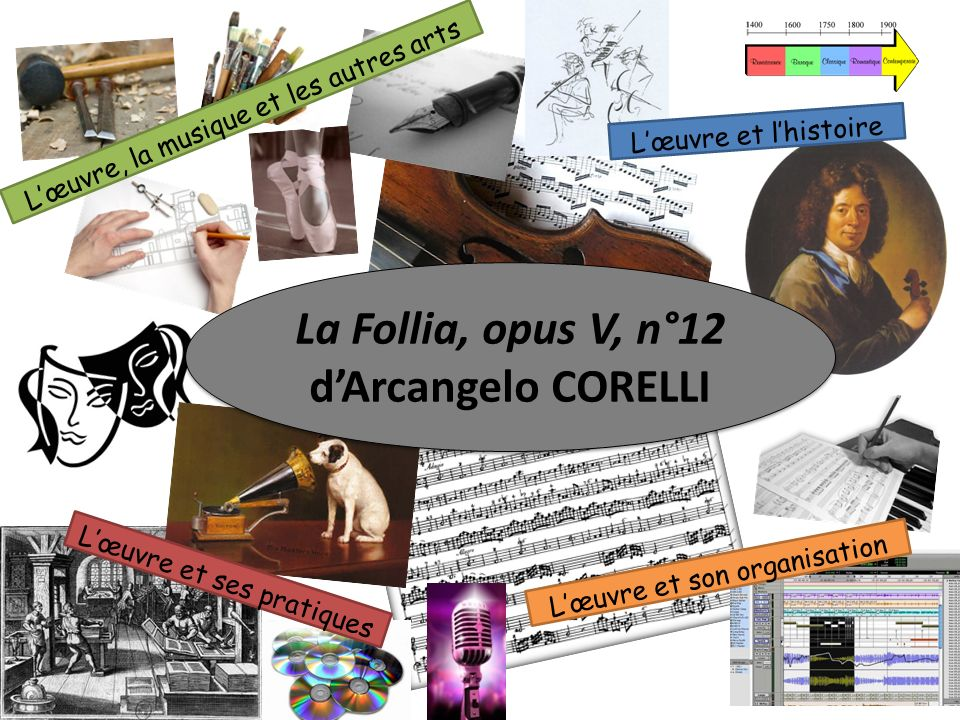 La Follia, opus V, n°12 d'Arcangelo CORELLI