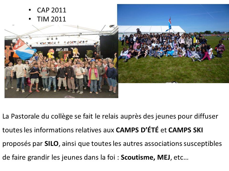CAP 2011 TIM 2011.