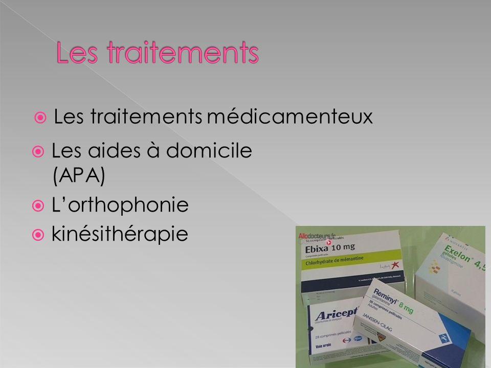 Les traitements Les traitements médicamenteux