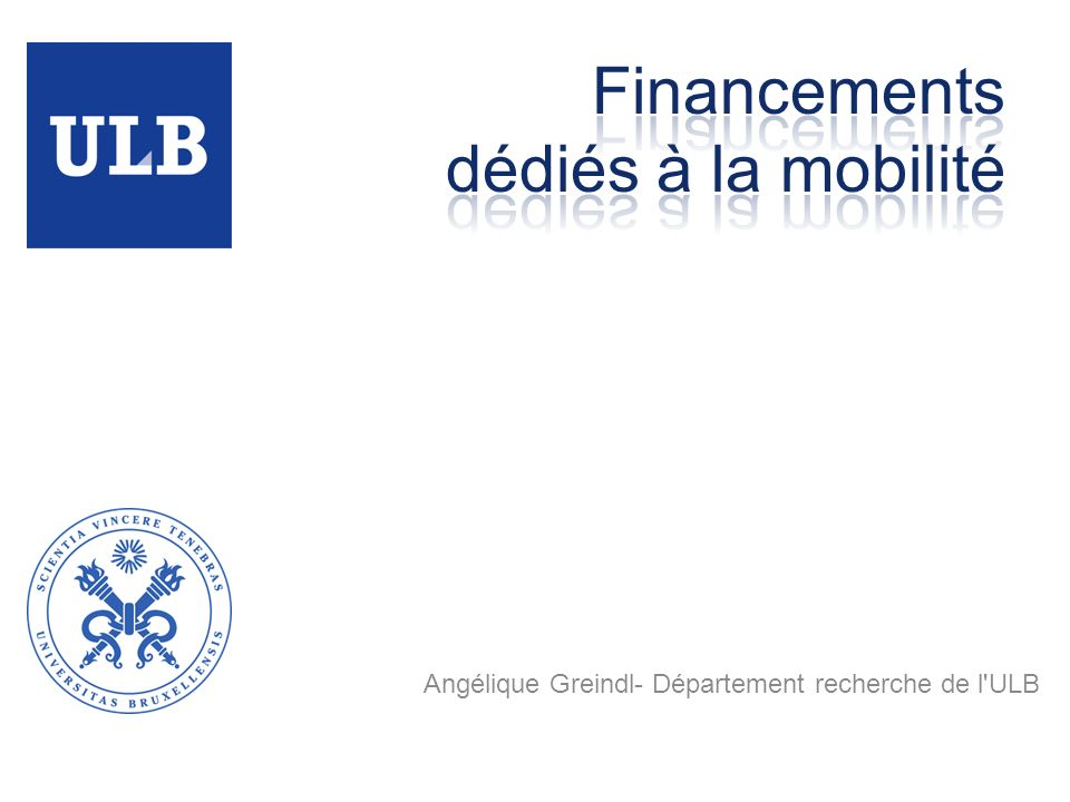 Financements dédiés à la mobilité
