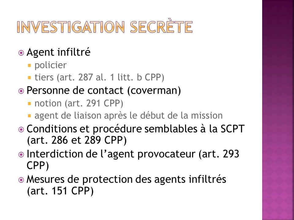 Investigation secrète