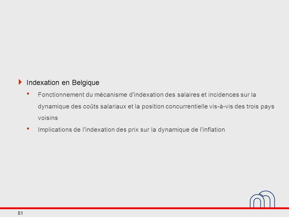 Indexation en Belgique