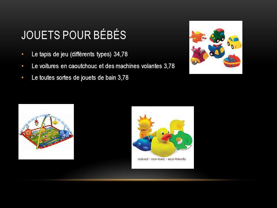 Jouets pour bébés Le tapis de jeu (différents types) 34,78