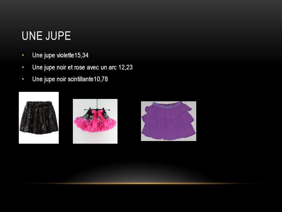 Une jupe Une jupe violette15,34