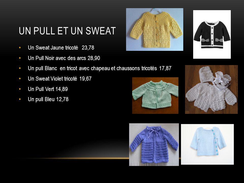 Un pull et un sweat Un Sweat Jaune tricoté 23,78