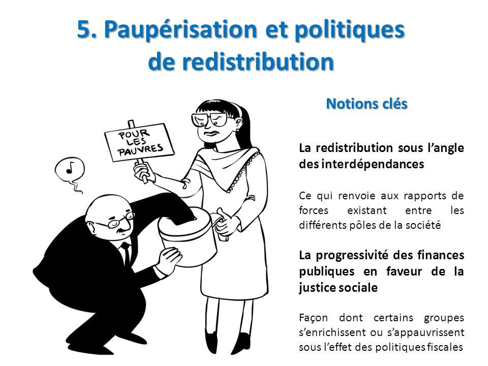 5. Paupérisation et politiques de redistribution