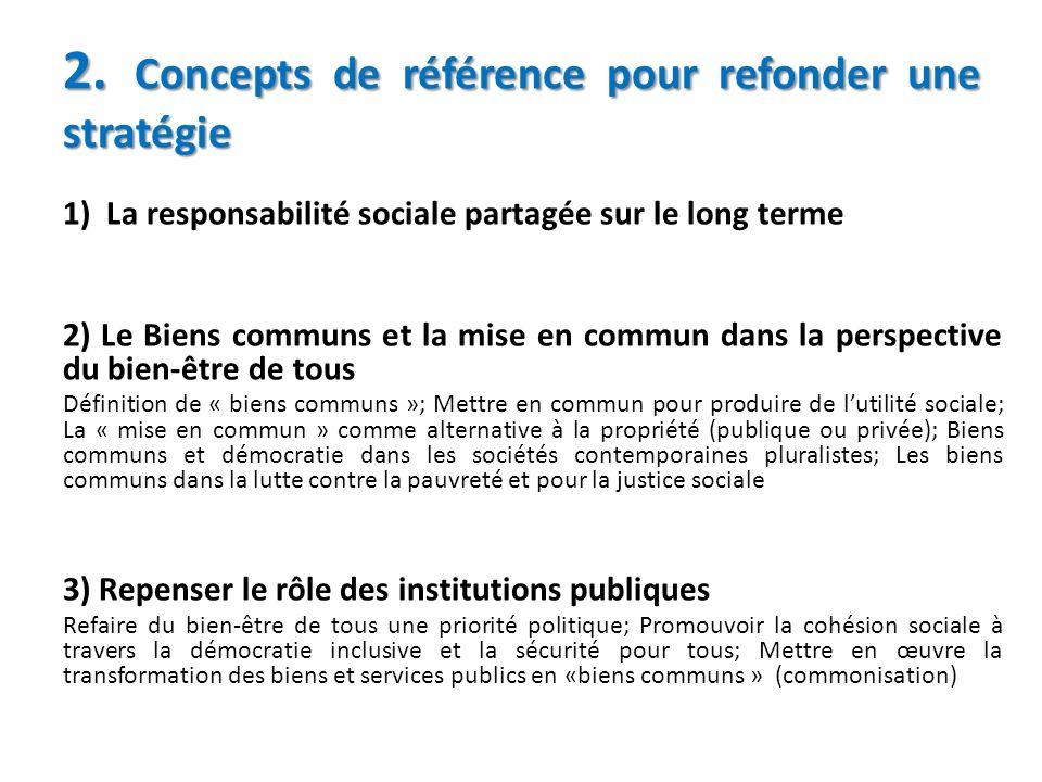 2. Concepts de référence pour refonder une stratégie