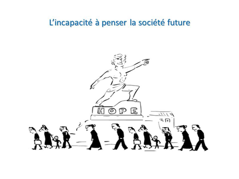 L'incapacité à penser la société future