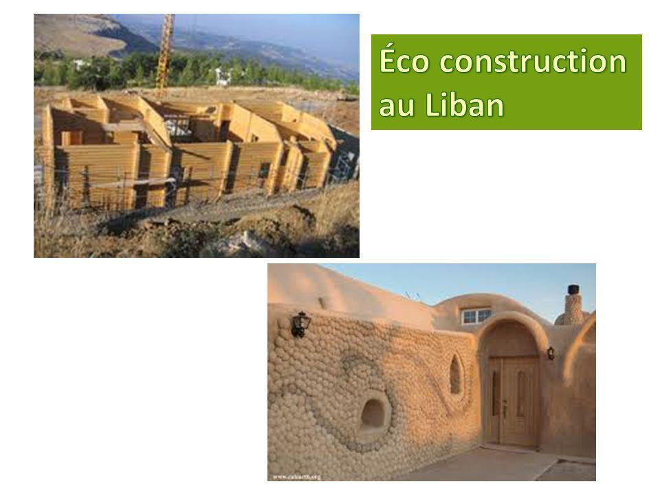 Éco construction au Liban
