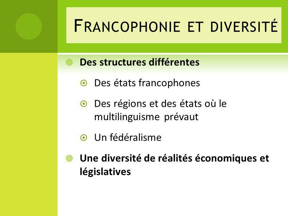 Francophonie et diversité
