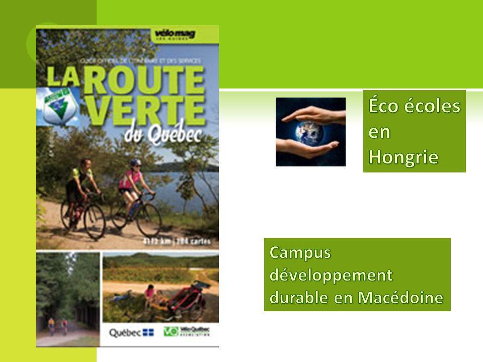 Éco écoles en Hongrie Campus développement durable en Macédoine
