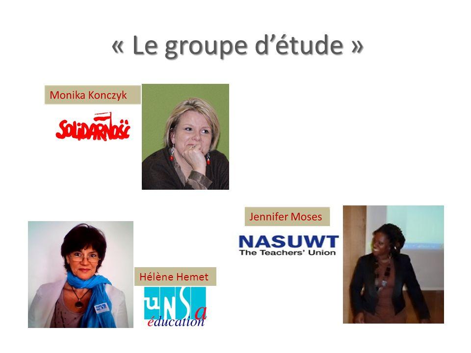 « Le groupe d'étude » Hélène Hemet