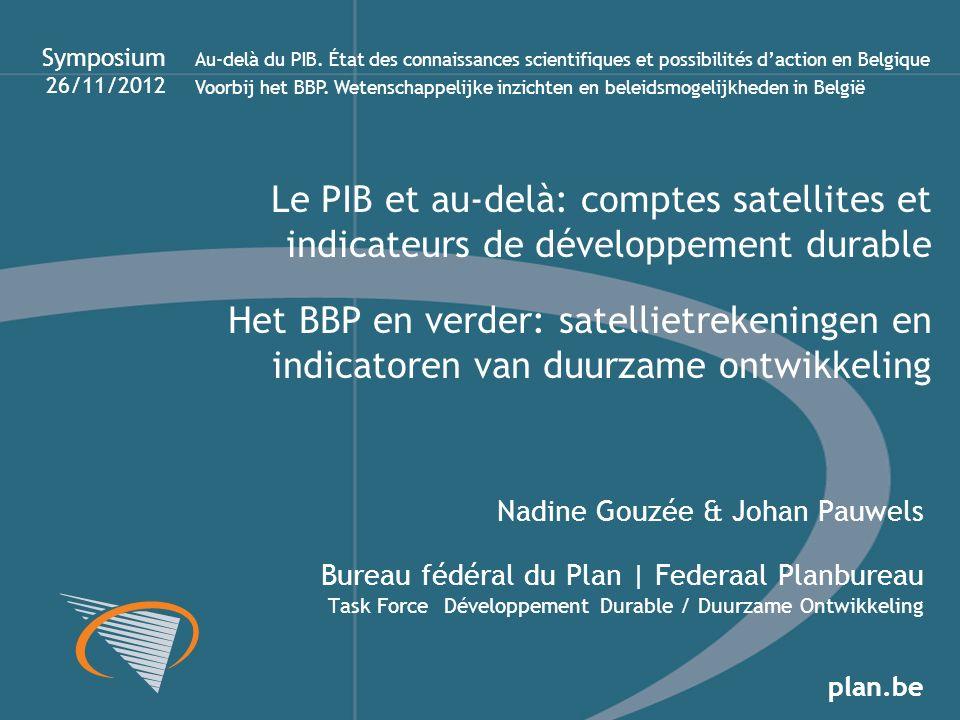 Symposium 26/11/2012.
