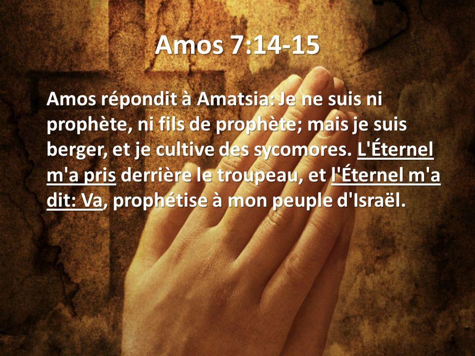 Amos 7:14-15