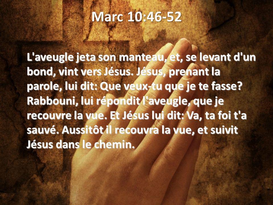 Marc 10:46-52