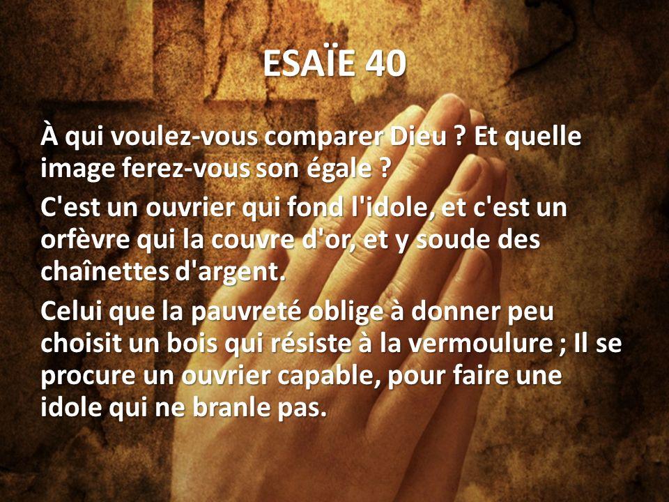 ESAÏE 40