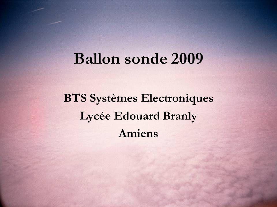 BTS Systèmes Electroniques Lycée Edouard Branly Amiens
