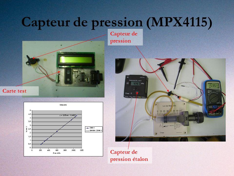 Capteur de pression (MPX4115)