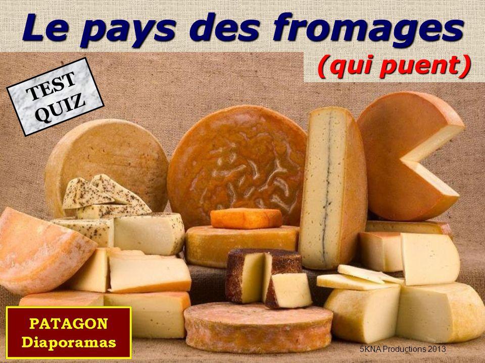 Le pays des fromages (qui puent) TEST QUIZ 5KNA Productions 2013