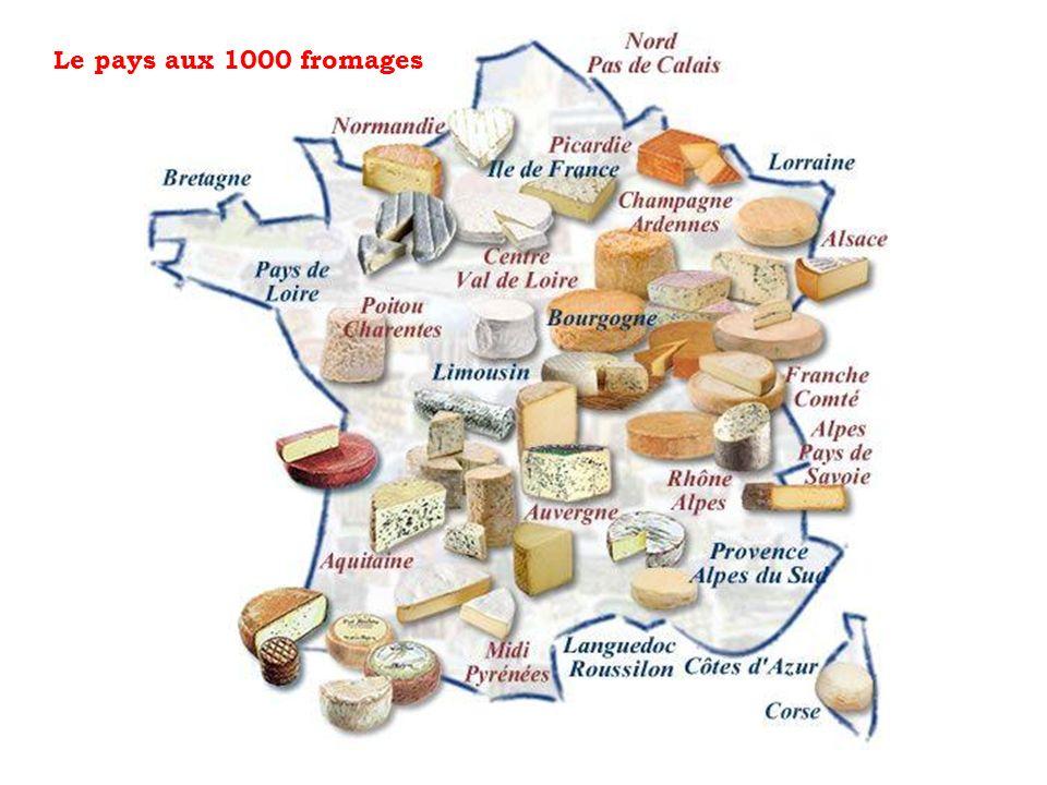 Le pays aux 1000 fromages